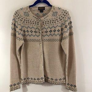 Woolrich Cardigan Button Up Sweater Sz L